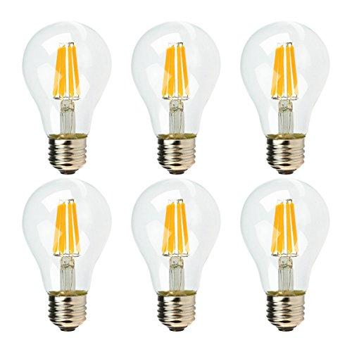 Muslish LED電球 E26口金 (6W) 60W形相...