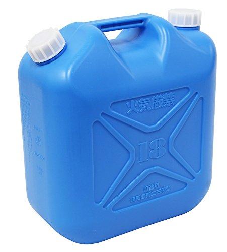 プラテック 灯油缶 青 18L