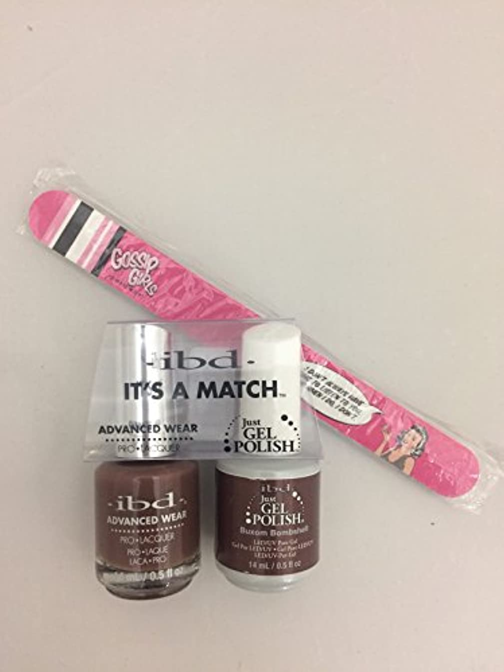 ibd - It's A Match -Duo Pack- Nude Collection - Buxom Bombshell - 14 mL / 0.5 oz Each