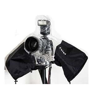 デジタル一眼レフカメラ用 レインカバー 雨天の撮影に 《平行輸入品》