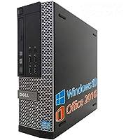 【Microsoft Office 2016搭載】【Win 10搭載】DELL 7010/第三世代Core i7-3770 3.4GHz/新品メモリー:16GB/HDD:2TB/DVDスーパーマルチ/無線搭載/USB 3.0/新品キーボードマウス/中古デスクトップパソコン (HDD:2TB)