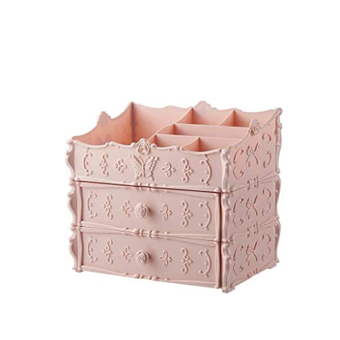 ラウンジグラマー便宜化粧品収納ボックスドレッシングテーブルデスクトップスキンケア製品 (Color : A)