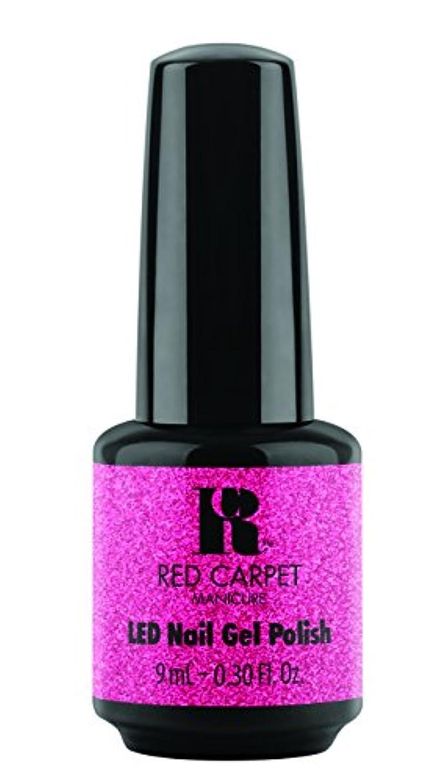分配します画面反毒Red Carpet Manicure - LED Nail Gel Polish - Designer Series - Swaggin - 0.3oz/9ml