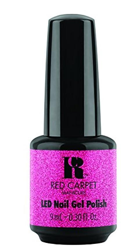 短くするもろい著名なRed Carpet Manicure - LED Nail Gel Polish - Designer Series - Swaggin - 0.3oz/9ml