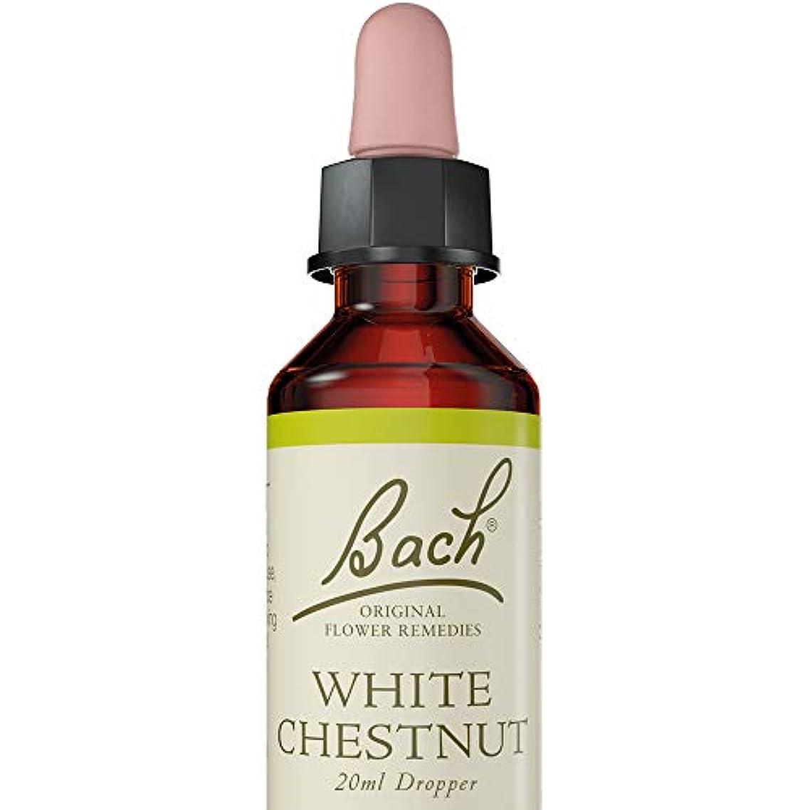 これまでストレスの多い光沢のあるバッチフラワー ホワイトチェストナット アルコールベース 20ml