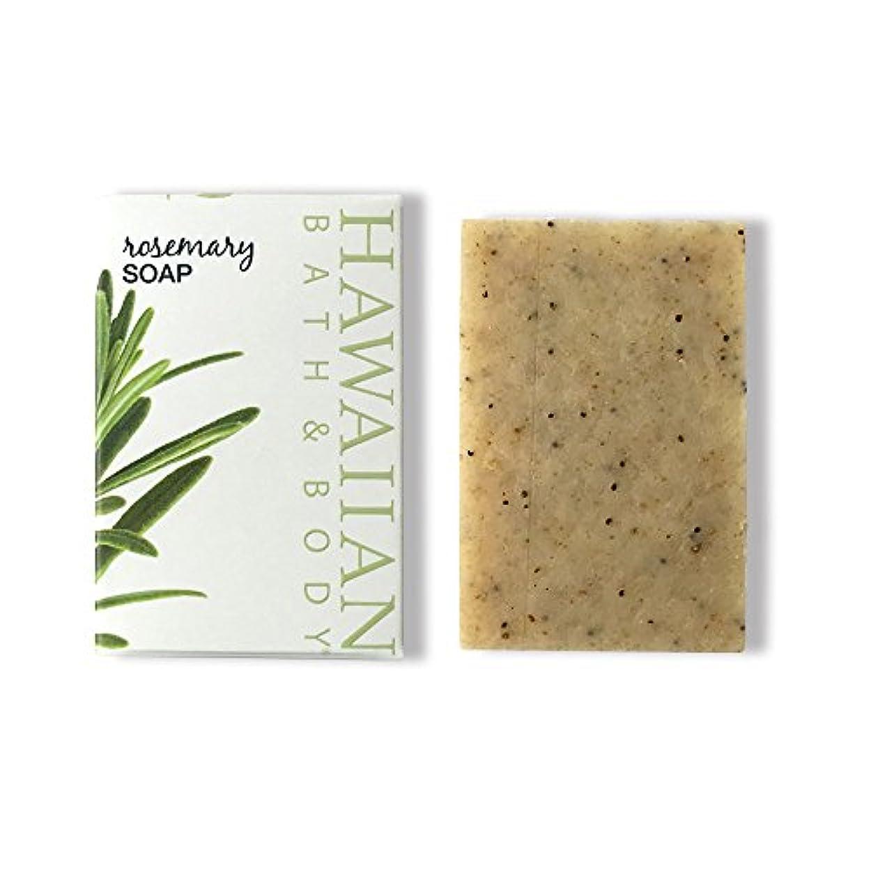 ネックレス直面する唯一ハワイアンバス&ボディ ローズマリーソープ ( Rosemary Soap )