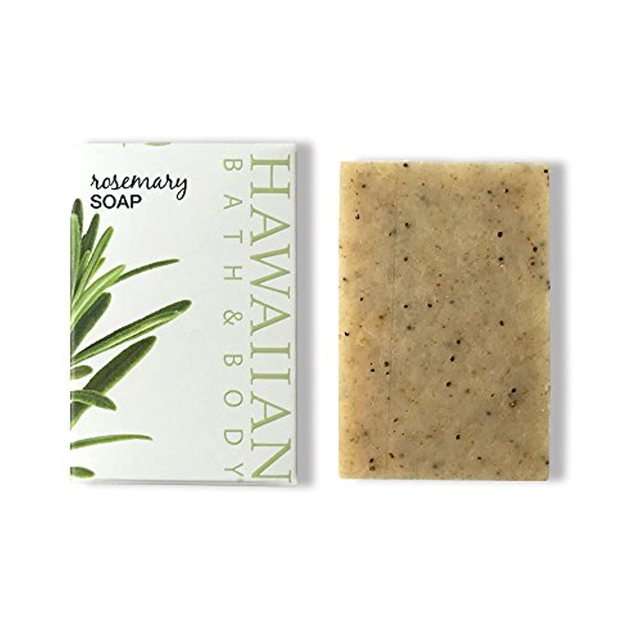 刺します閲覧する投資するハワイアンバス&ボディ ローズマリーソープ ( Rosemary Soap )