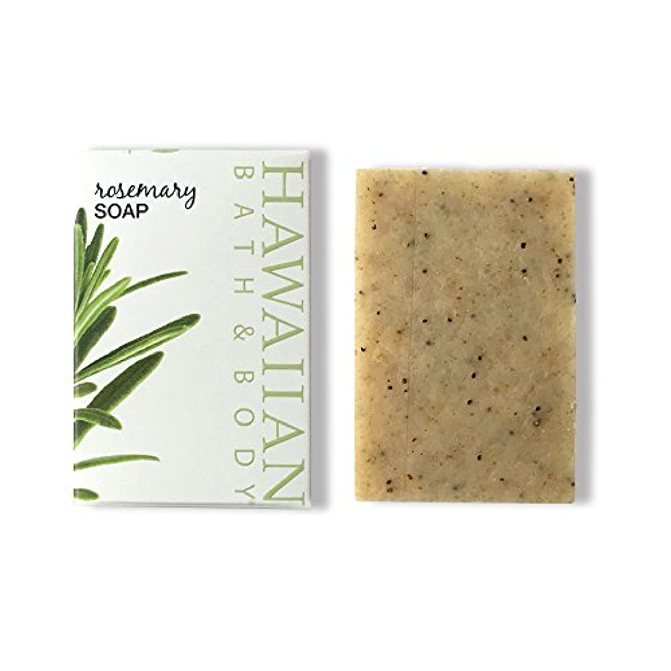 幸運なことに団結オセアニアハワイアンバス&ボディ ローズマリーソープ ( Rosemary Soap )