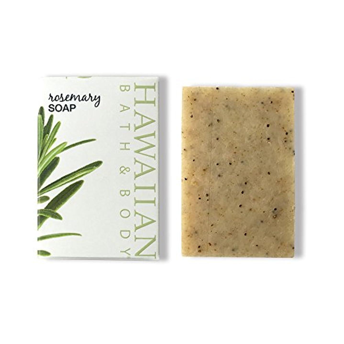 兄弟愛ストレージ四面体ハワイアンバス&ボディ ローズマリーソープ ( Rosemary Soap )