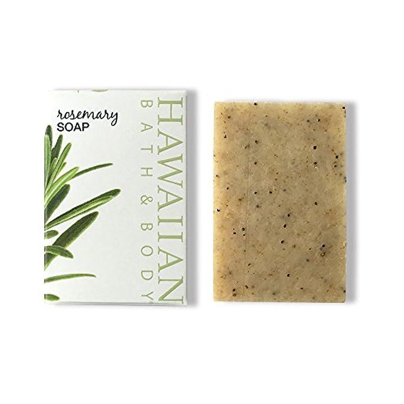 どう?有益な請負業者ハワイアンバス&ボディ ローズマリーソープ ( Rosemary Soap )