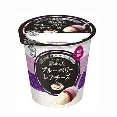 【冷蔵】【10個】重ねドルチェブルーベリーレアチーズ 120g