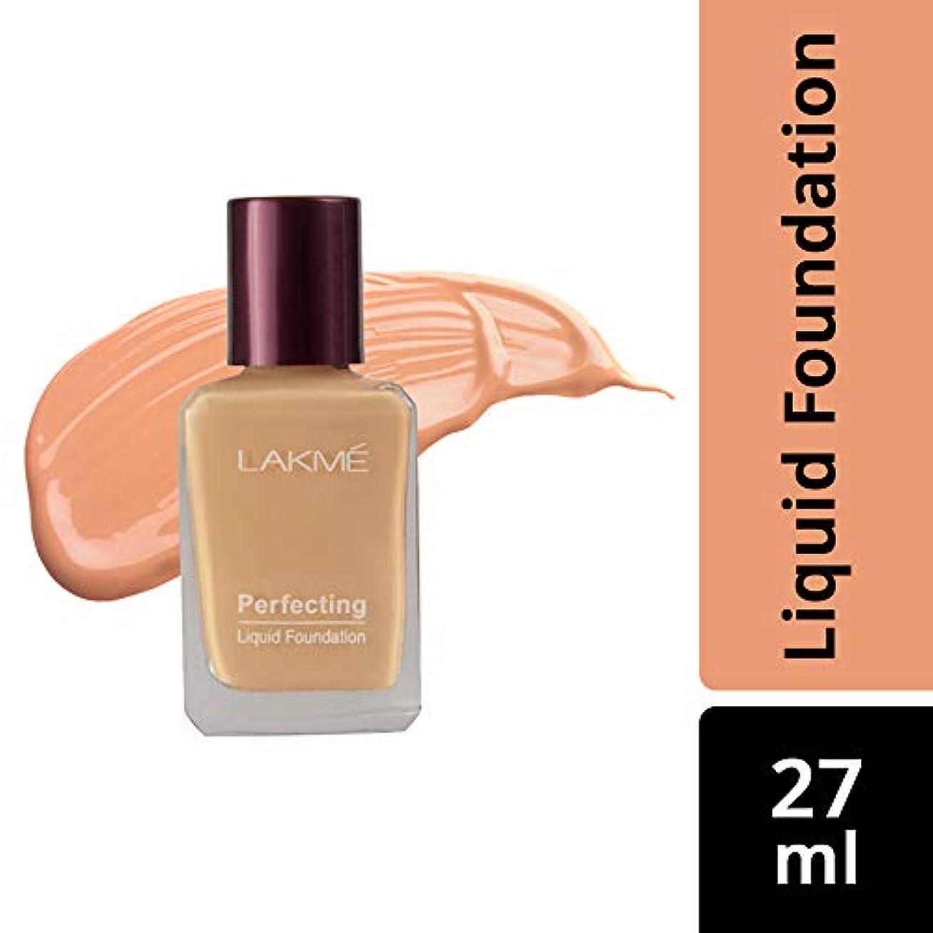 グローバル嫌がらせ火炎Lakme Perfecting Liquid Foundation, Pearl, 27 ml