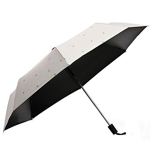 Airbibo 日傘 折りたたみ uvカット 完全遮光 晴雨兼用 軽量 8本骨 紫外線対策 耐風撥水 レディース 3段折 コンパクト 炎天下