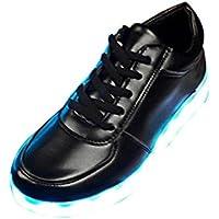 Start Boy's Led Shoes Usb Charging Light Up Glow Shoes Fashi