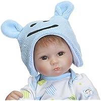 ピンキー42 cm 17インチRealisticソフトSiliconeビニール人形Lifelike人形Reborn Baby Look Real磁気口ダミー