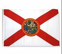 """フロリダ州状態12x 1812"""" x18""""スリーブGarden Flag"""