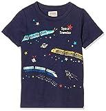 [マザウェイズ] 蓄光プリント 半袖Tシャツ ボーイズ 1428C 全6柄 ネイビー 日本 110.0 (日本サイズ110 相当)
