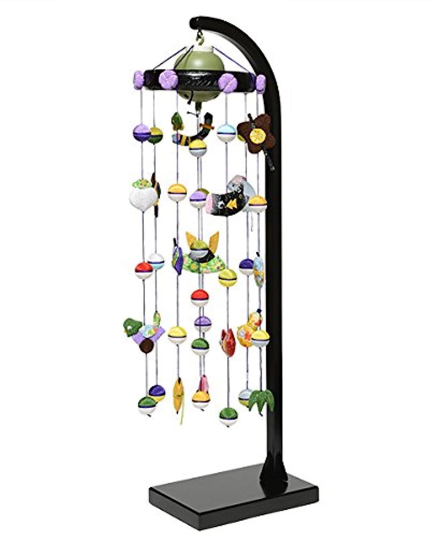 【五月人形】【つるし飾り】五月つるし雛 オルゴール付 五月押絵つるし雛【室内鯉のぼり】【端午の吊るし飾り】