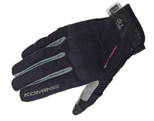 コミネ KOMINE バイク プロテクト メッシュ グローブ ブレイブ プロテクター 通気性 ブラック ダークグレー XL 06-183 GK-183