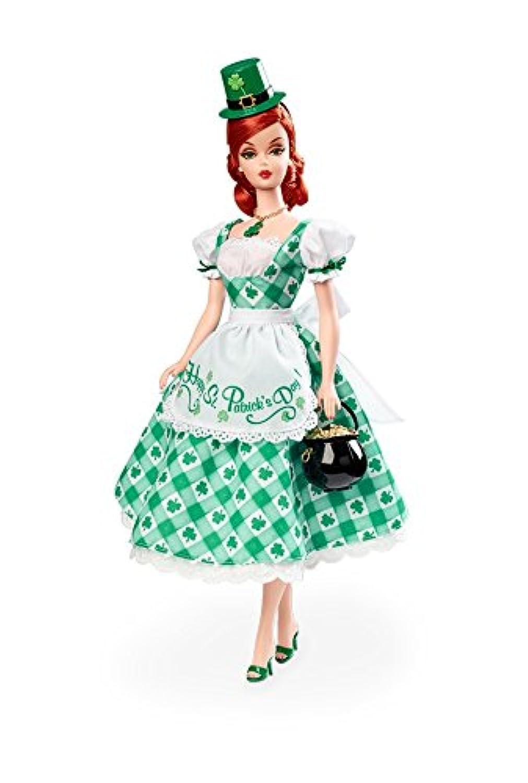 輸入バービー人形 Shamrock Celebration Barbie Doll [並行輸入品]