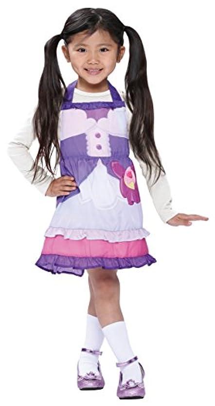 細菌女将段落キラキラプリキュアアラモード キュアマカロン かんたんドレス キッズコスチューム 女の子