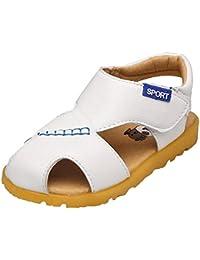 Tovadoo 子供靴 サンダル 男の子 女の子 夏 韓国風 無地 ベーシック 滑り止め 多色 可愛い プレゼント 0.5-3歳