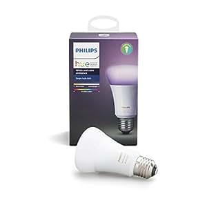 Philips Hue(ヒュー)シングルランプv3 | E26スマートLEDライト1個 | 【Amazon Echo、Google Home、Apple HomeKit、LINEで音声コントロール