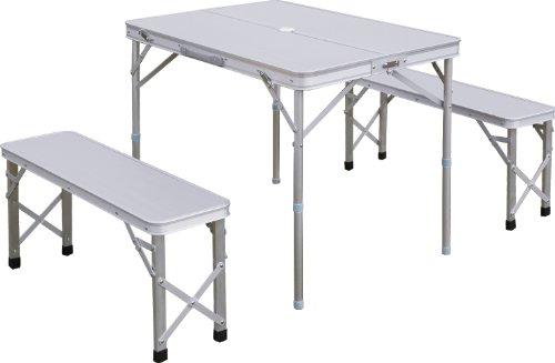 FIELDOOR 収納式アルミレジャーテーブル