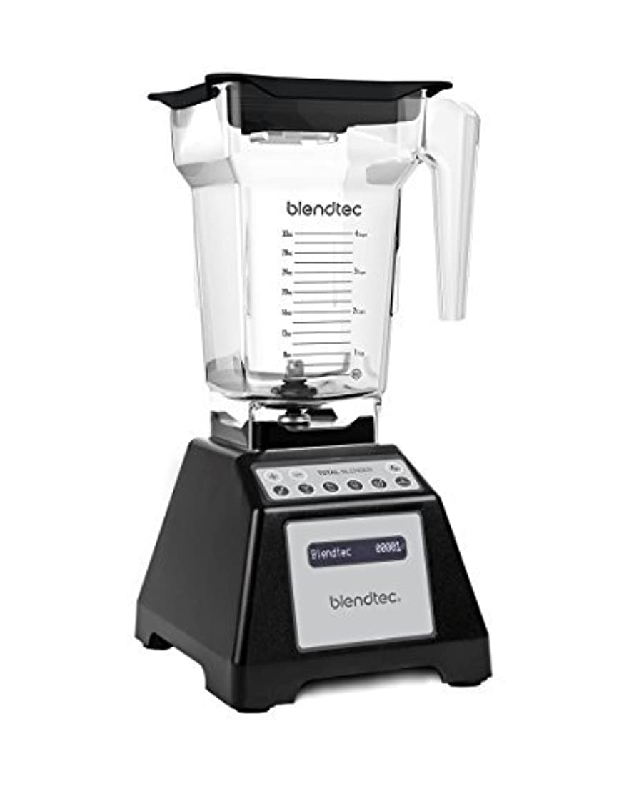 習字未払い苗Blendtec Total Blender Classic, with FourSide Jar, Black [並行輸入品]