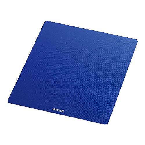 バッファロー マウスパッド メタル調 ブルー BSPD10BL 1個