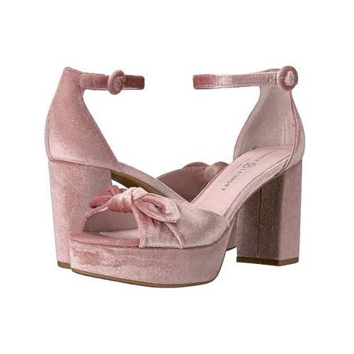 (チャイニーズランドリー)Chinese Laundry レディースサンダル・靴 Tina Rose Rich Velvet 6 23cm M [並行輸入品]