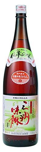 角谷文治郎商店 三州三河みりん 有機三州味醂 1.8L