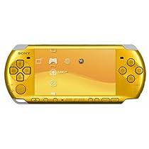 PSP「プレイステーション・ポータブル」 バリュー・パック ブライト・イエロー (PSPJ-30003) 【メーカー生産終了】