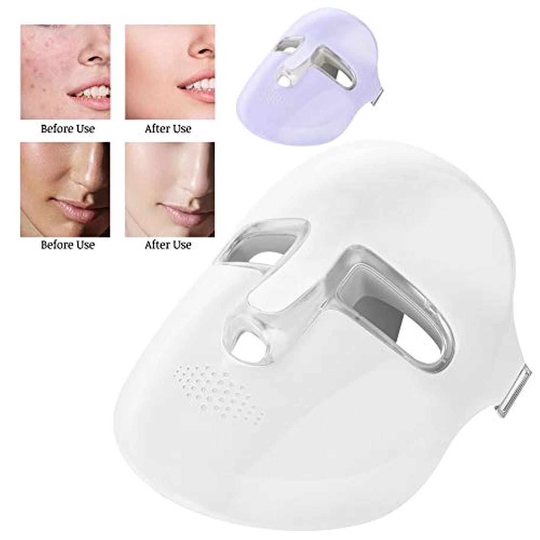 作りますぬるい尽きるしわの除去、肌の白化、バランス分泌のための美容機プロフェッショナルPDTフォトンテクノロジースキンケアデバイス(紫の)
