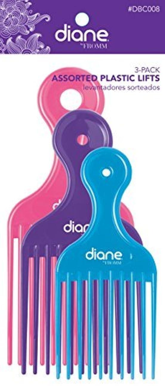 ギター作家パトロンDiane Fromm Assorted Plastic Lifts 3 Pack [並行輸入品]