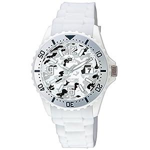 [シチズン キューアンドキュー]CITIZEN Q&Q 腕時計 シリコンベルト 逆輸入 海外モデル カモフラージュ ホワイト A430J024Y