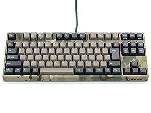 FILCO Majestouch2 Camouflage-R テンキーレス 日本語カナなし Cherry MXサイレント 静音モデル USB&PS/2 マルチカム FKBN91MPS/NMR2