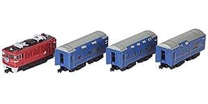 Bトレインショーティー 特急寝台列車北斗星Aセット (機関車+客車 4両入り) プラモデル