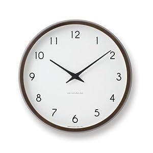 Lemnos (レムノス) 掛け時計 ナチュラル サイズ:φ29.4×d5.4cm PC10-24 BW