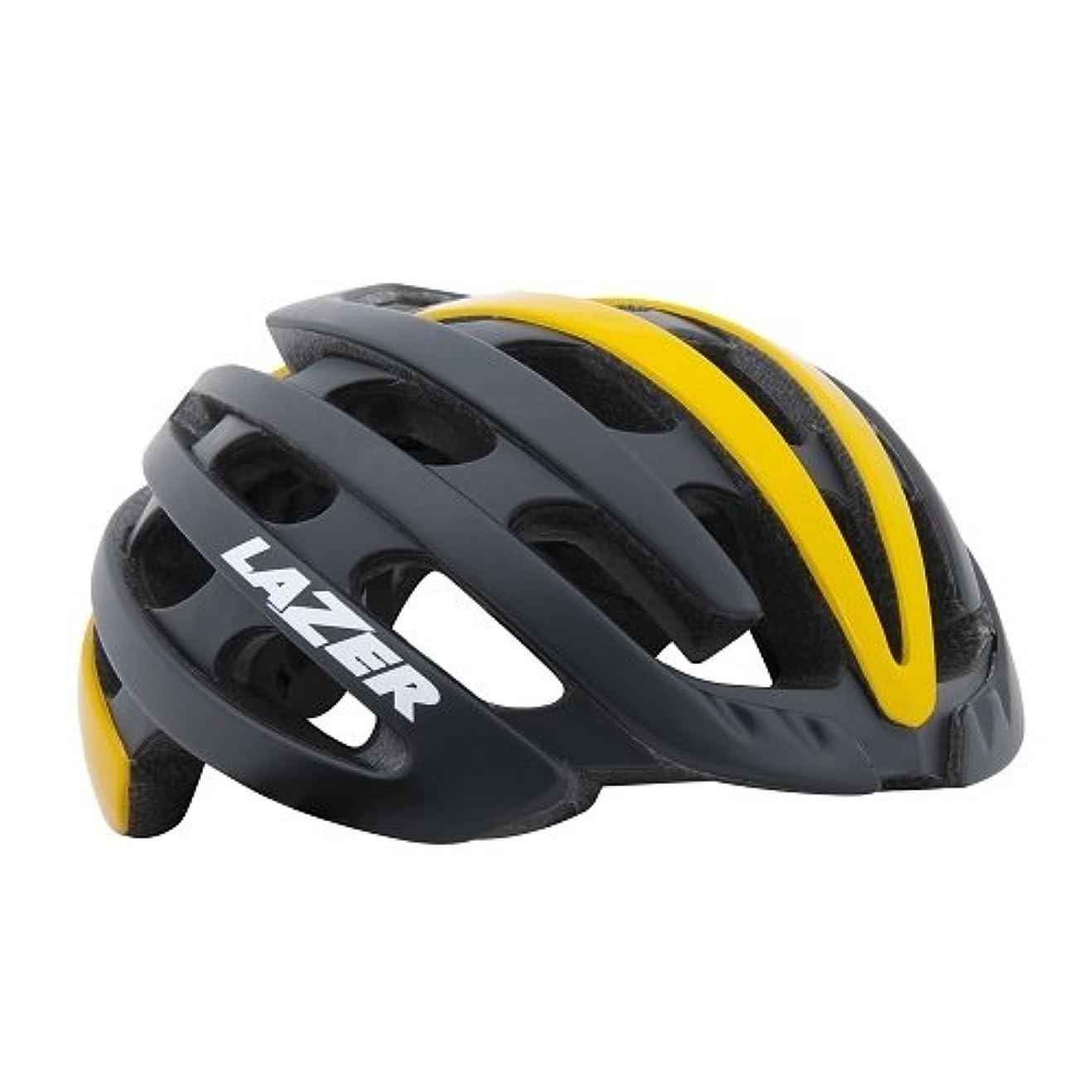 やろうくしゃくしゃ奇跡LAZER(レーザー) ヘルメット Z1 JCF公認 サイクリングヘルメット R2LA842947X マットブラックイエロー M(55-59cm)