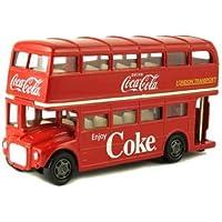 Motor City Classics コカコーラ 1/64 ルートマスター ロンドン ダブルデッカー バス