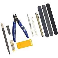 プラモデル 入門 用 工具 セット 薄刃 ニッパー ベーシック ツール DIY クラフト 製作 修理 ビギナーセット (スターターキット)