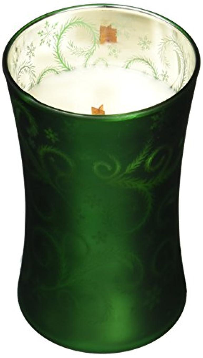 代名詞マイナー花瓶Wood Wick ダンシンググラスジャーL 「 ツリートリミング 」 W9260510