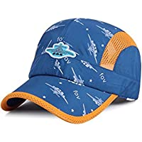 MZLIU Kids Boys Girls Sun Hat Light Weight Quick Drying Mesh Hat Baseball Cap