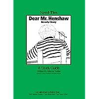 Dear Mr. Henshaw (Novel-Ties)
