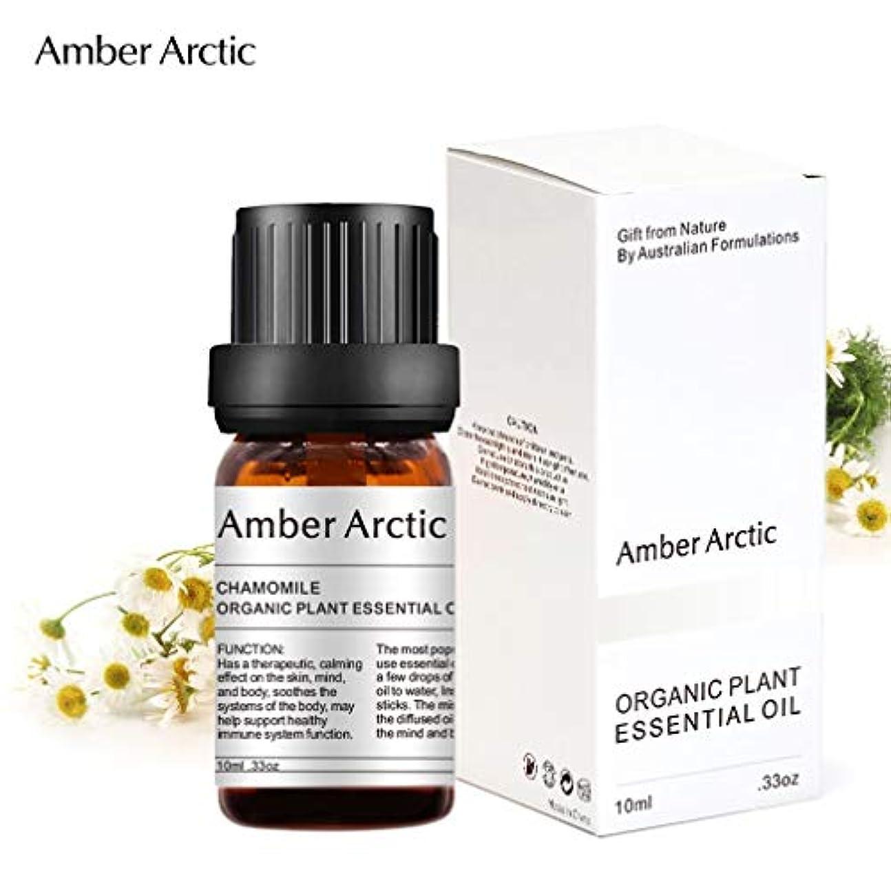 熟読今日増強するAmber Arctic カモミール エッセンシャル オイル、100% ピュア 天然 アロマテラピー カモミール オイル スプレッド 用 (10ML) カモミール