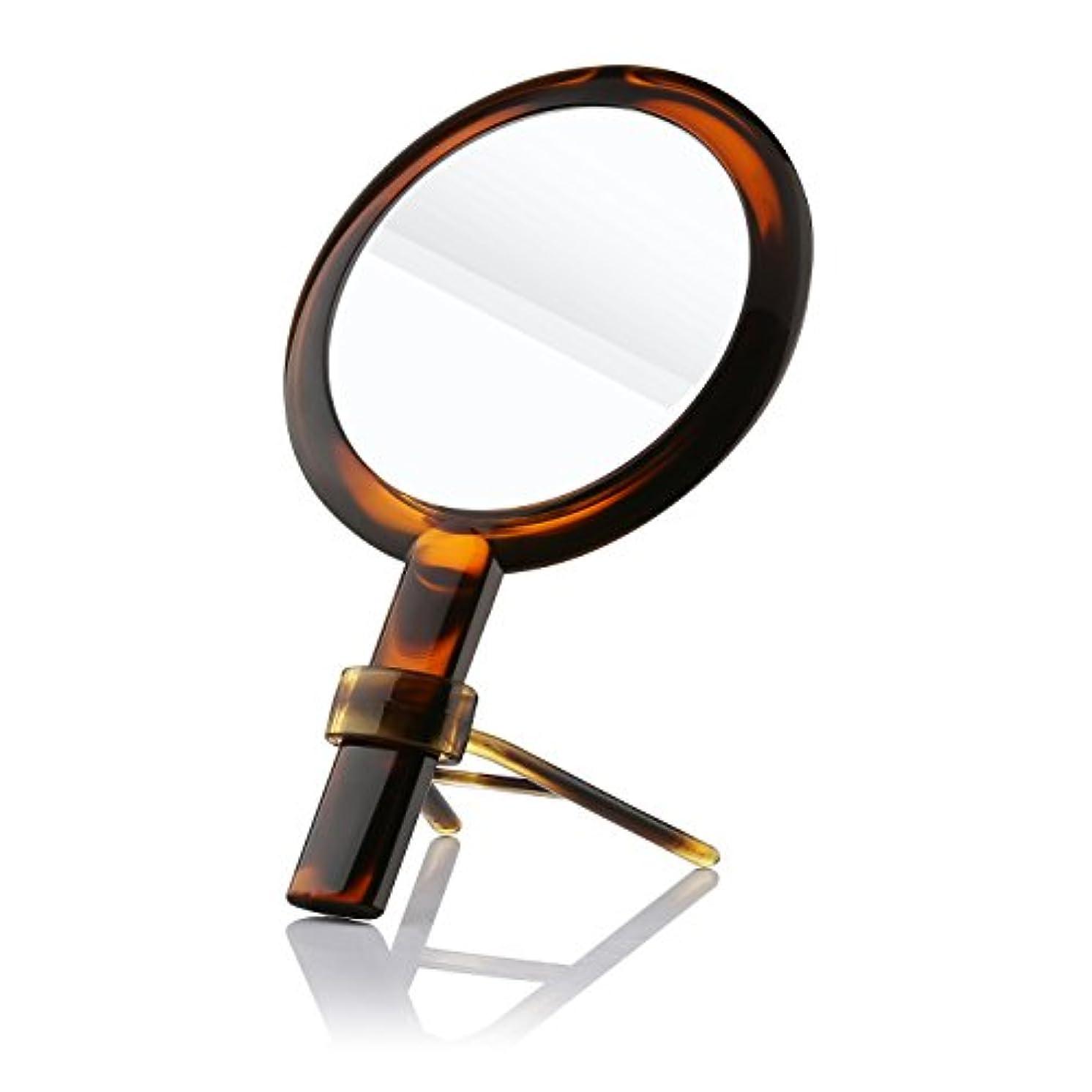 ウッズ友だち乏しい化粧ミラー Beautifive 化粧鏡 メイクミラー 等倍卓上両面鏡 7倍拡大スタンドミラー 手鏡 光学レズン高解像度