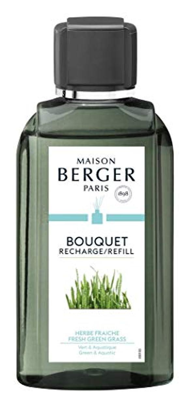クロス地獄返還ランプベルジェ Bouquet Refill - Fresh Green Grass 200ml並行輸入品