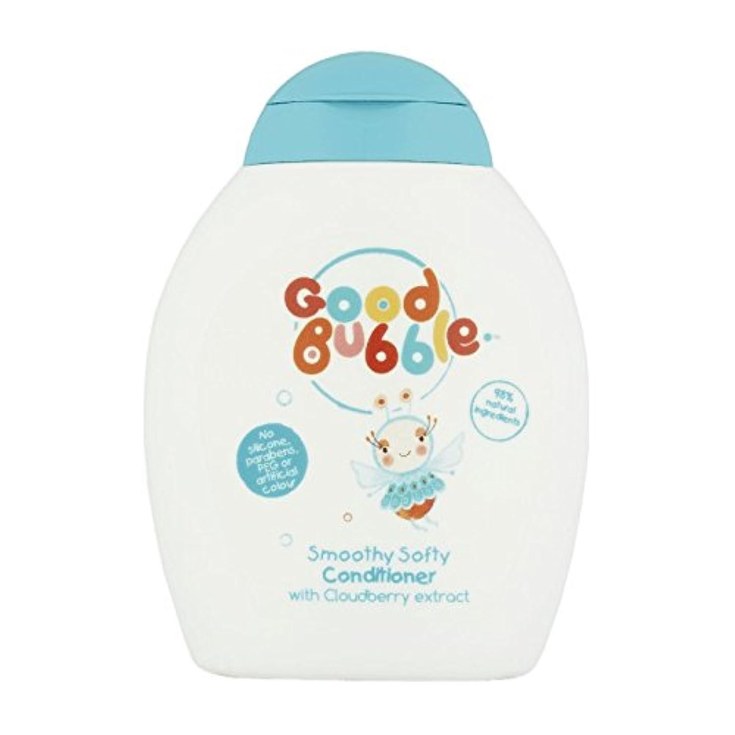 香ばしいダーツボトルネックGood Bubble Cloudberry Conditioner 250ml (Pack of 6) - 良いバブルクラウドベリーコンディショナー250ミリリットル (x6) [並行輸入品]