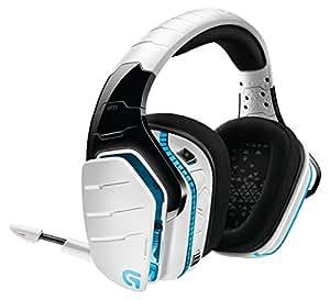 Logicool ロジクール G933 SNOW RGB サラウンド ゲーミング ヘッドセット ワイヤレス Dolby / DTS搭載 7.1  PC PS4 Xbox One など対応